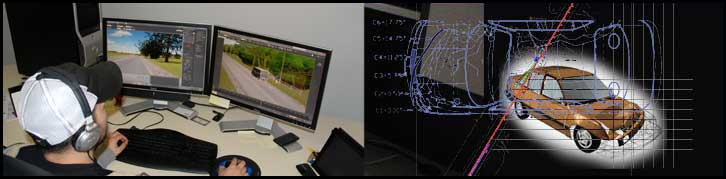 Reconstruction, Accident Simulation, Technical Testing Facility